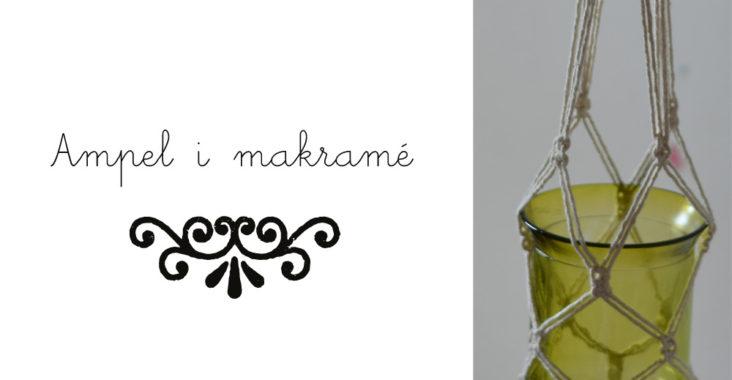 ampel i makramé