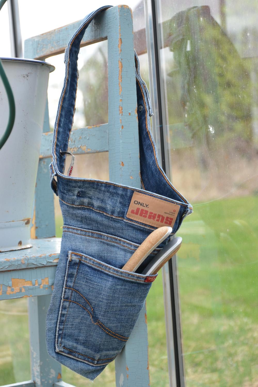 återbruka gamla jeans