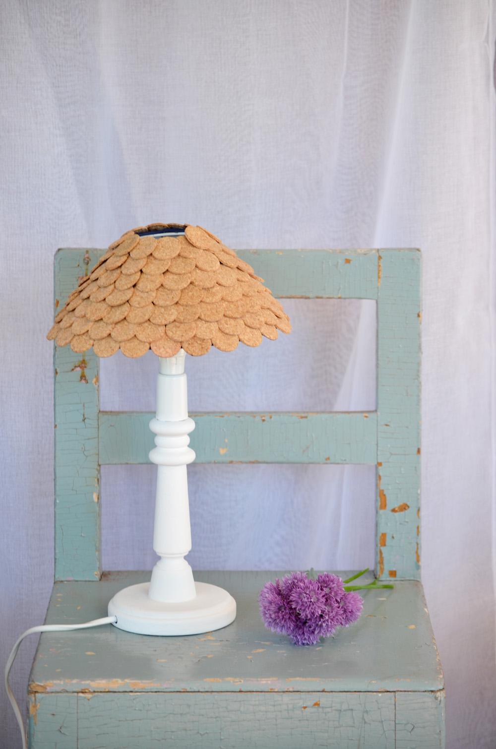 lampa kork