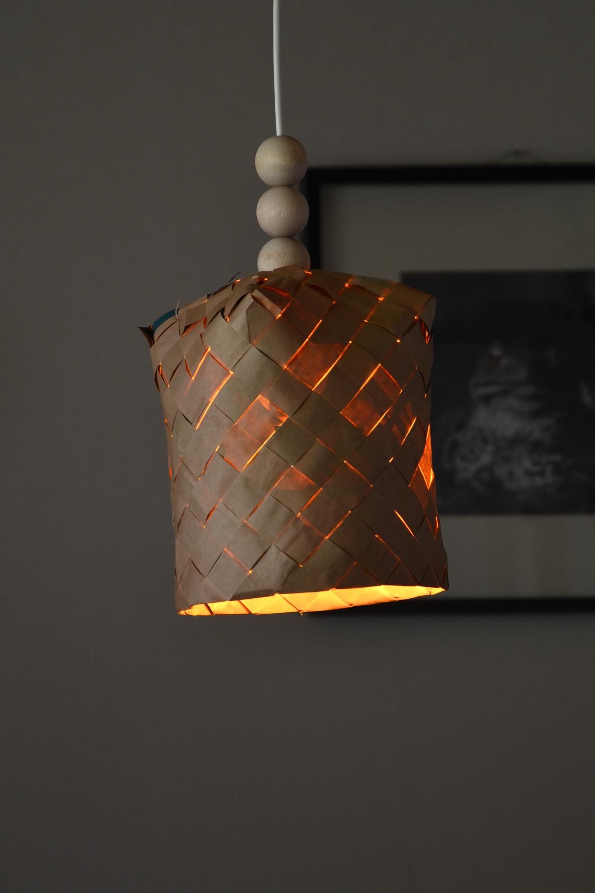 DIY lampskärm