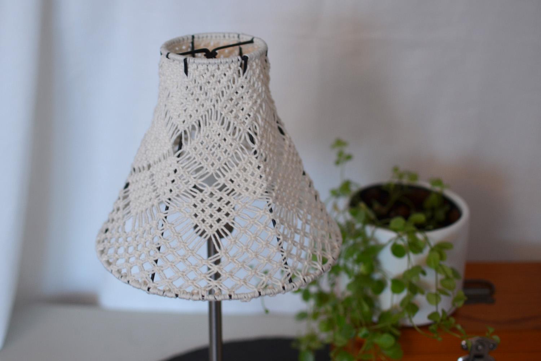 lampa makrame
