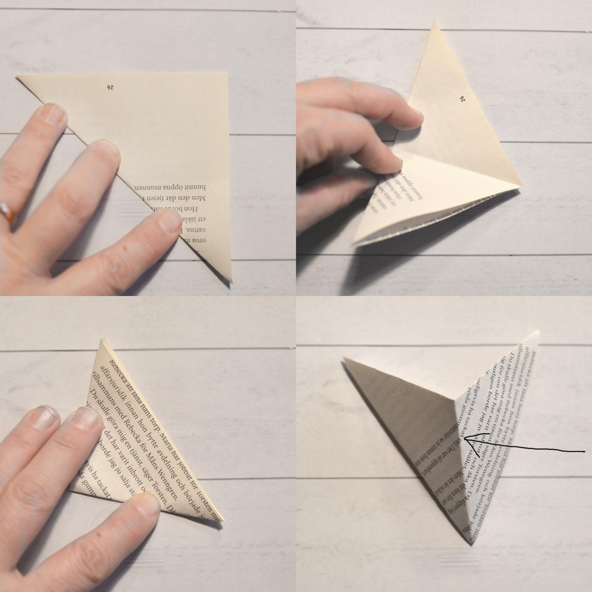DIY papperstjärna
