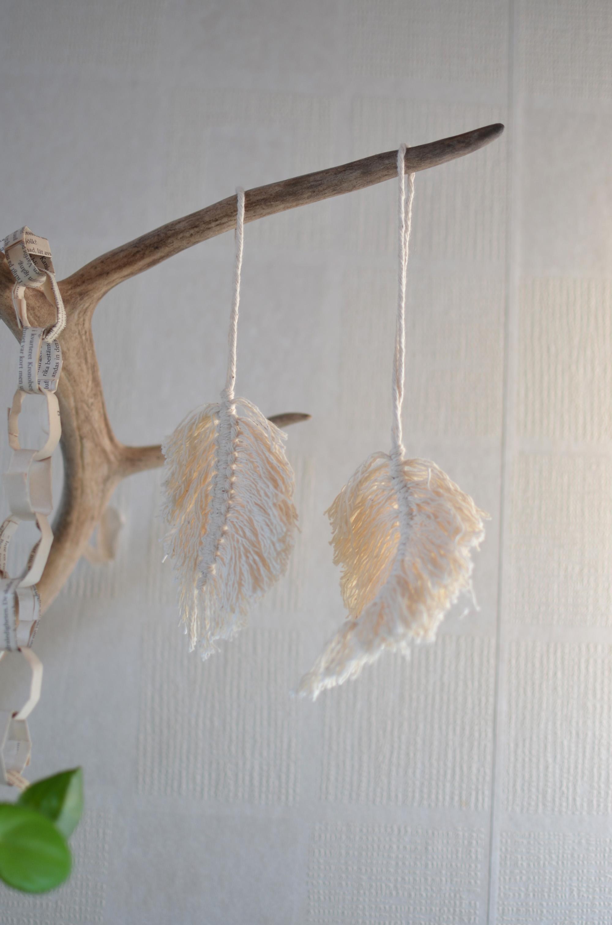 DIY Fjädrar